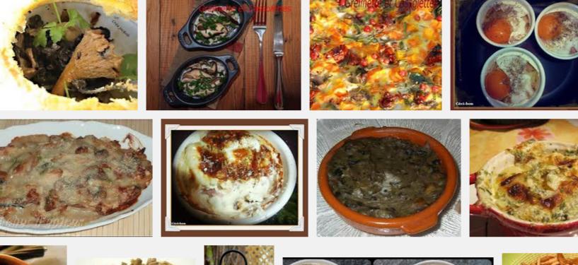 La recette de Claude : cassolettes de champignons aux herbes