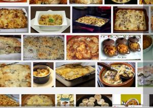 gratin de champignons Recherche Google