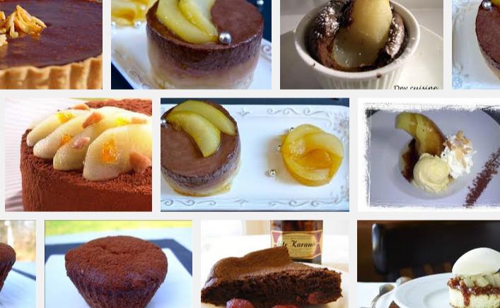 La recette de Claude : moelleux au chocolat et aux poires confites