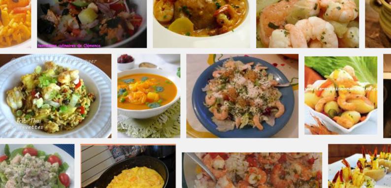 La recette de Claude : riz aux pommes et crevettes