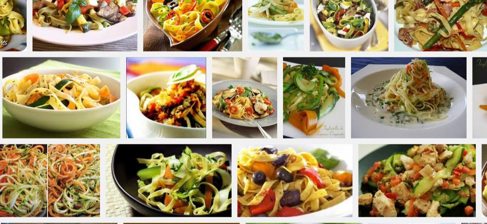La recette de Claude : tagliatelles aux légumes