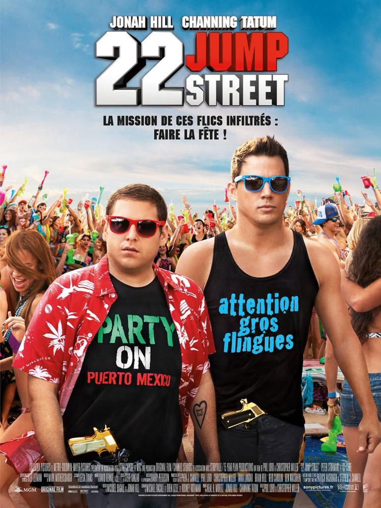 [Critique] « 22 Jump Street » brillante comédie parodique avec Channing Tatum et Jonah Hill