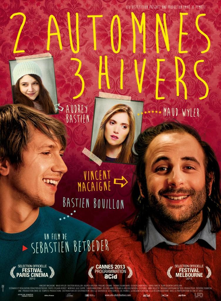 [Sortie DVD] « 2 automnes 3 hivers » : belle dramédie atmosphérique avec Vincent Macaigne