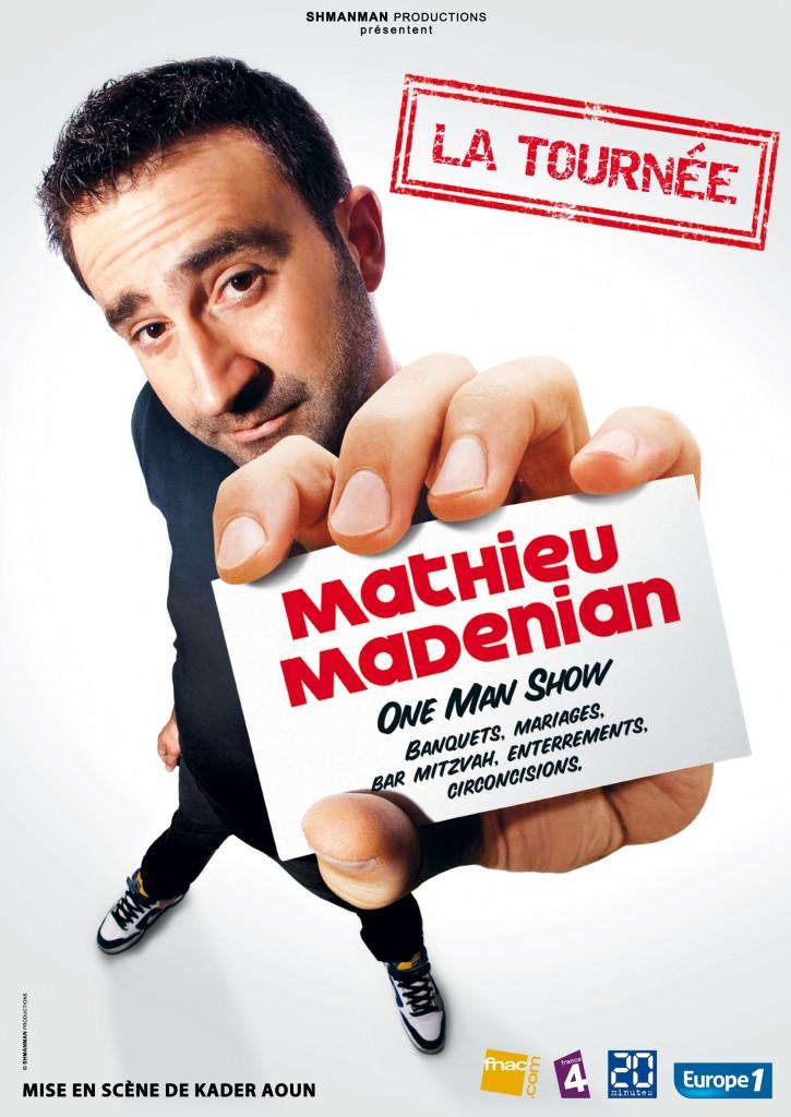 L'humoriste Mathieu Madénian interdit de scène suite à ses propos anti-FN