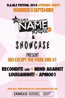 Gagnez 5×2 places pour la N.A.M.E. Opening au Showcase le 5 septembre