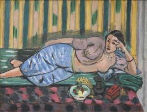 Henri Matisse, Odalisque au coffret rouge, 1927 Huile sur toile Musée Matisse, Nice. Legs de Madame Henri Matisse, 1960 © Succession H. Matisse Photo : Archives Henri Matisse/ D.R.