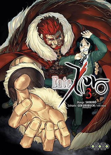 « Fate/Zero Tome 3 » : âmes tourmentées