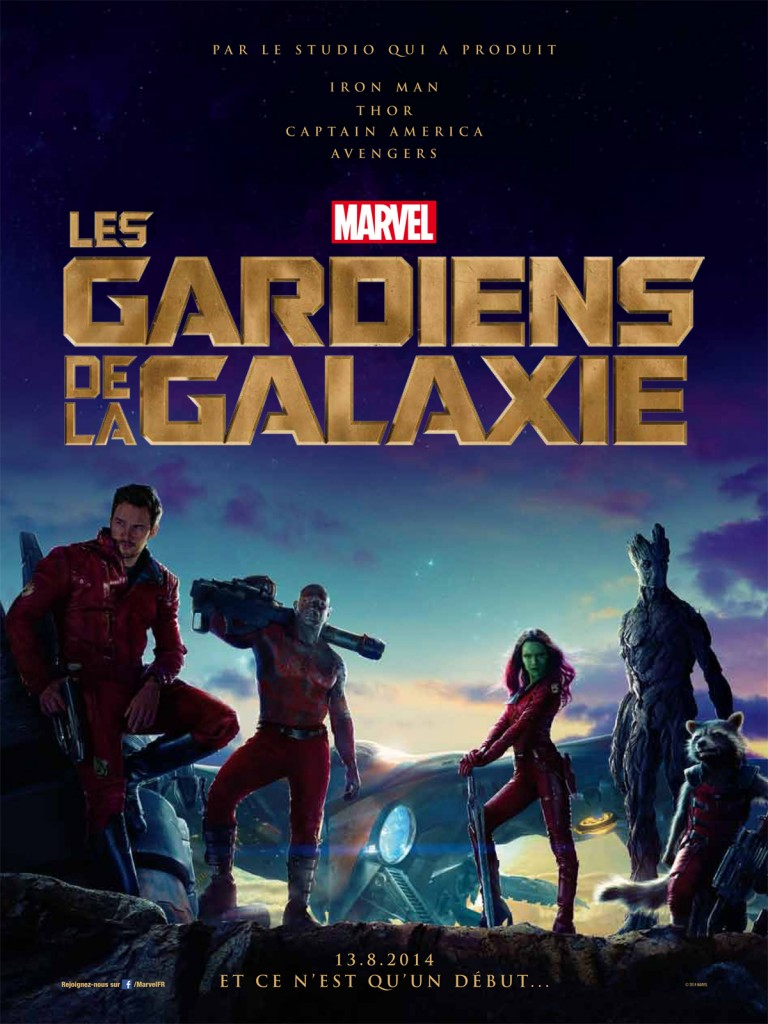[Critique] « Les Gardiens de la Galaxie » : Marvel adopte la « simple et funky » attitude