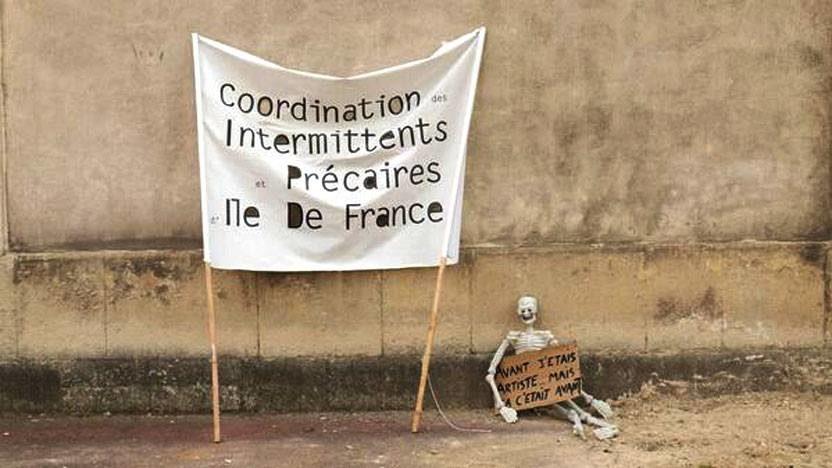 Les intermittents du spectacle déposent un préavis de grève pour le 1er octobre