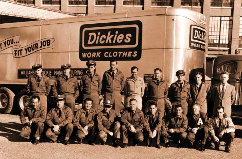 Dickies retour en France de la marque des travailleurs US