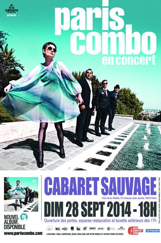 Gagnez 4 exemplaires de « 5 », le dernier album de Paris Combo
