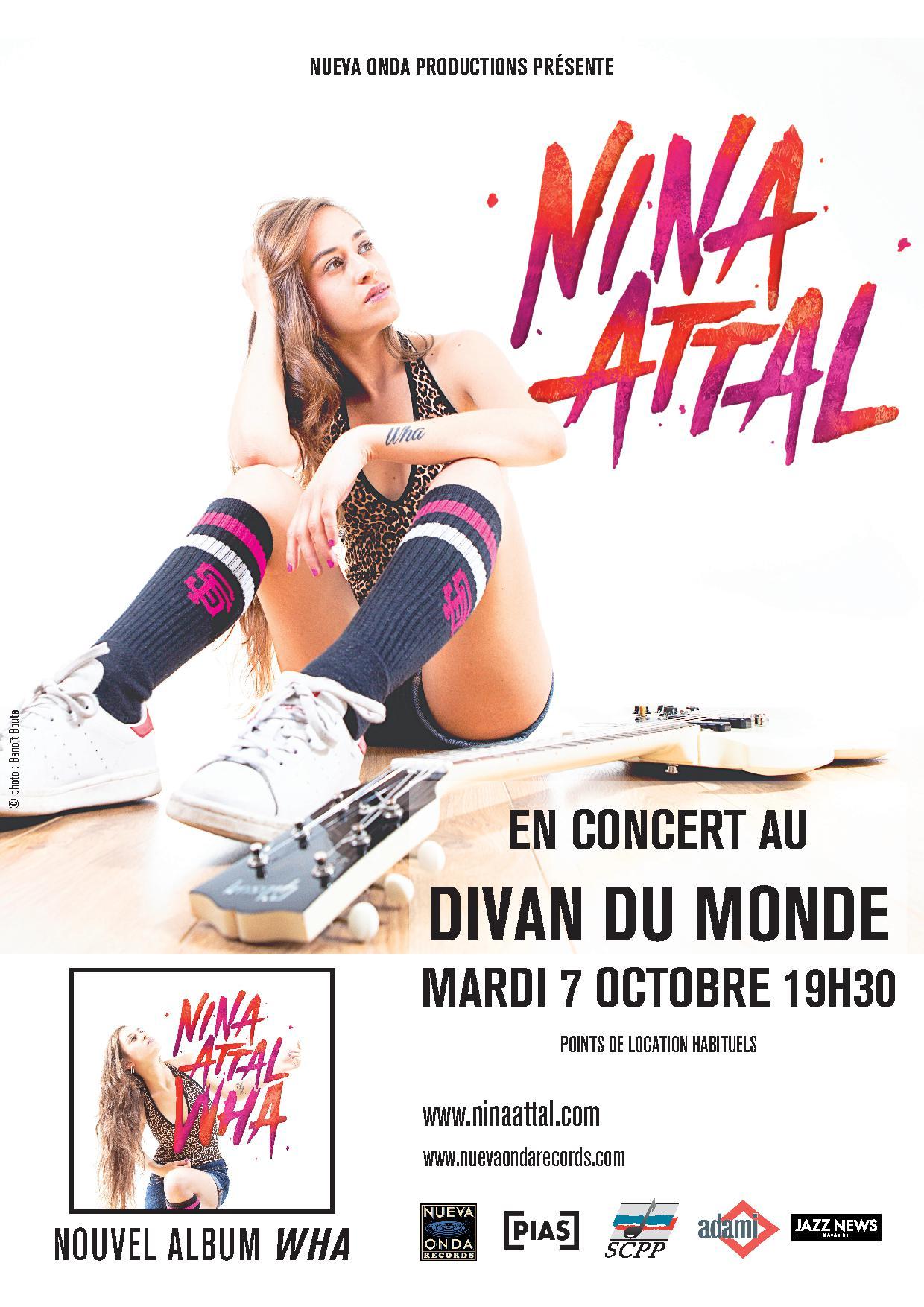 Gagnez 2 exemplaires de wha le nouvel album de nina for Divan du monde