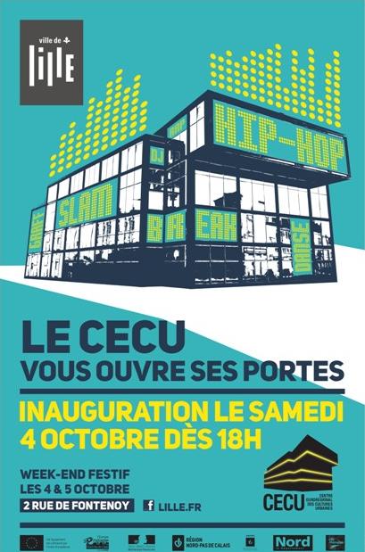 Ouverture du Centre Eurorégional des Cultures Urbaines à Lille