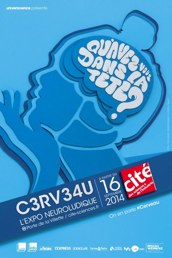 C3RV34U l'expo neuroludique – Tout, tout, tout, vous saurez tout sur le cerveau