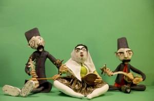 Alireza Mirasadullah, Ostad mina performing alongside of Rostam Yahodi Shirazi and Sohrab Armani Isfahani, 2014