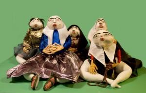 Alireza Mirasadullah, Banafsheh Badam Khanoom, Jan Jan Khanom, Golpari Khanoom Gorgy, Ziba, Chehre Khanoom Torkaman and Moshtari Baji Khanoom, 2014