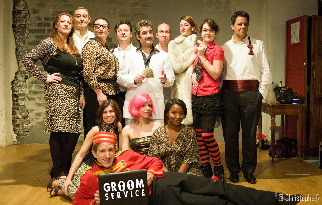 « Groom Service » au Théâtre de Ménilmontant