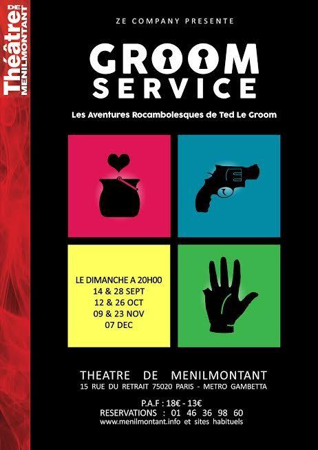 Gagnez 3×2 places pour la pièce « Groom Service » au Théâtre de Ménilmontant