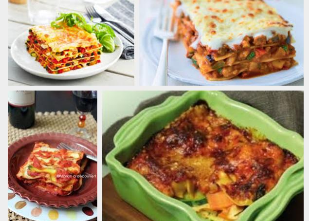 [La recette de Claude] Lasagnes aux légumes et à la mozzarella