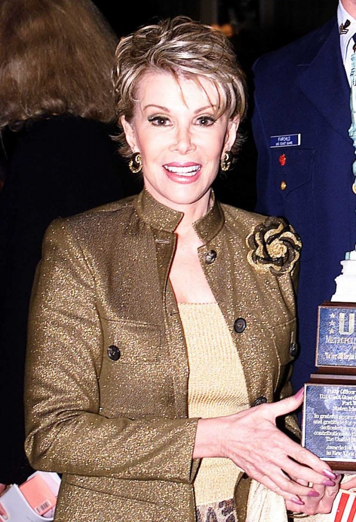 Joan Rivers, mort hollywoodienne