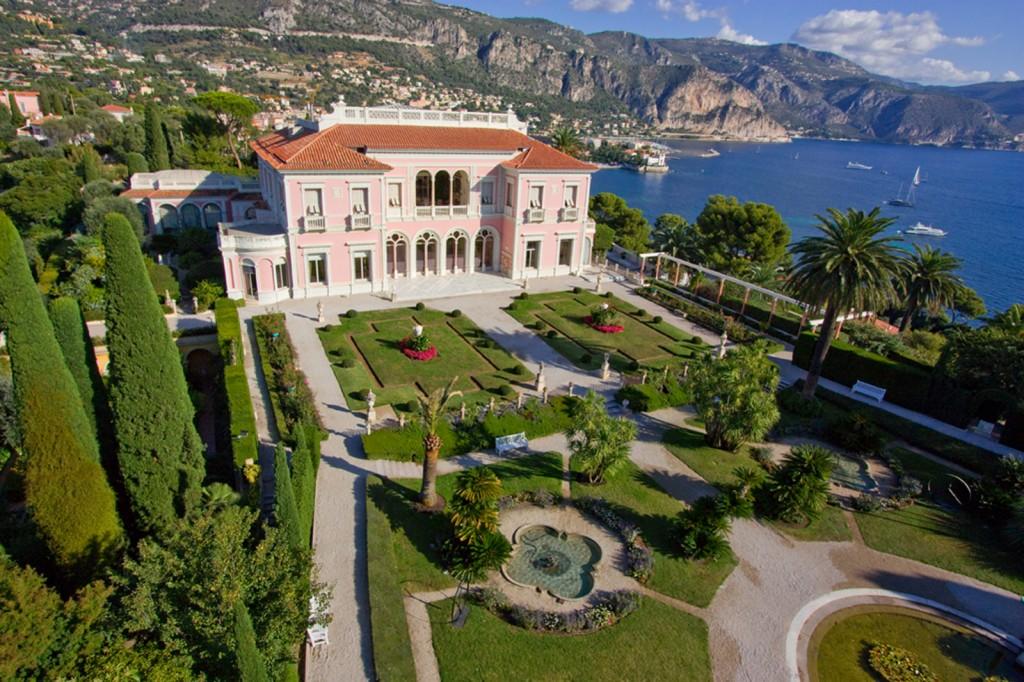 Clin d'œil culturel sur la Côte d'Azur (2/4) : les villas Kerylos et Ephrussi de Rotschild