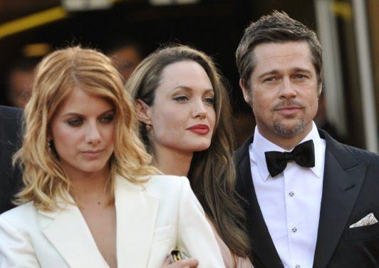 Mélanie Laurent chez Angelina Jolie