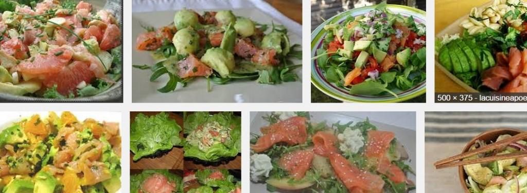 [La recette de Claude] Salade d'avocat au saumon fumé
