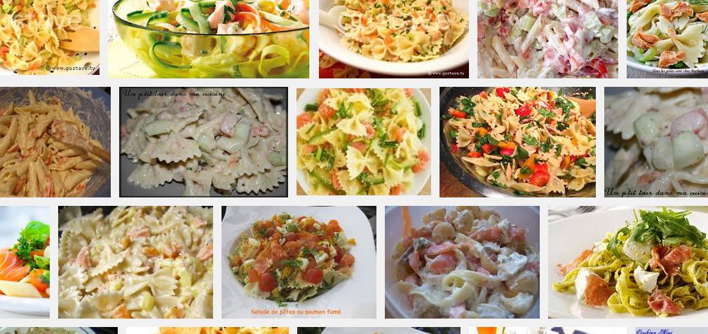 [La recette de Claude] Salade de Penne au Saumon