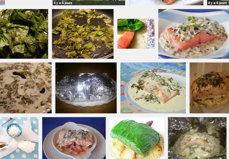 [La recette de Claude] Saumon à l'oseille en papillotes