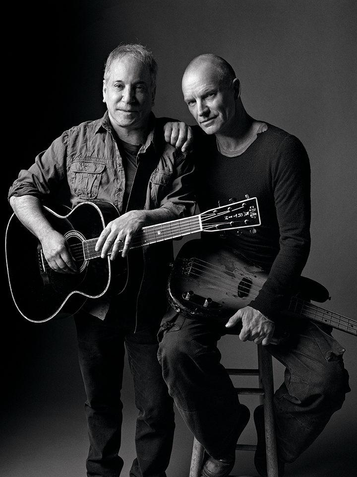 [Réservez vite] Paul Simon et Sting en tournée européenne