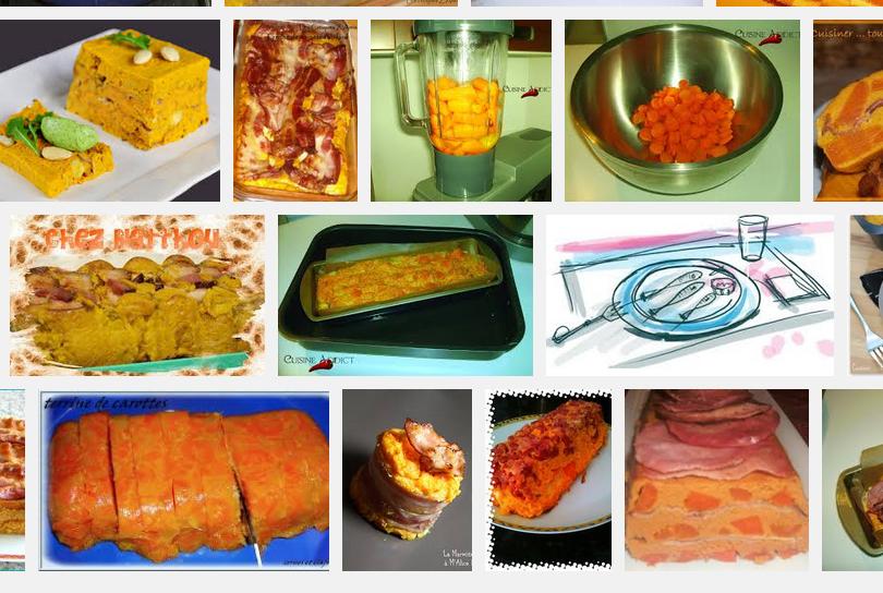 [La recette de Claude] Terrine de carotte au lard