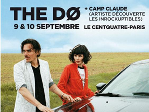 [Live report] Camp Claude et The Dø au Centquatre