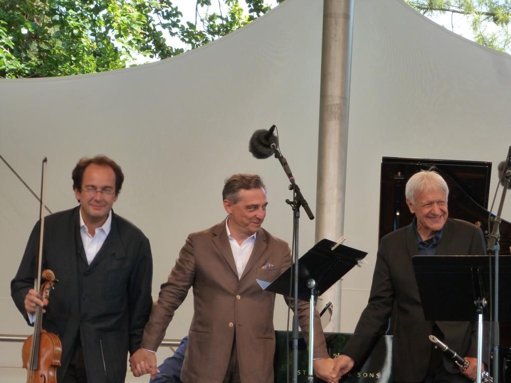 [Live report] Festival Classique au vert : Michel Portal, Miguel Da Silva, Michel Dalberto