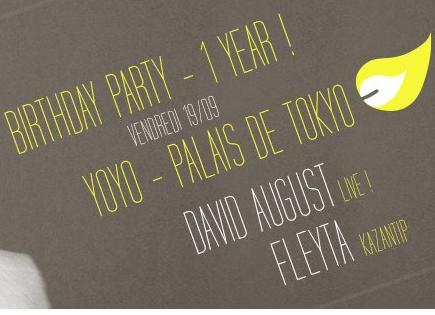 Gagnez 5×2 pour le YoYo Birthday – One Year ! le 19 septembre