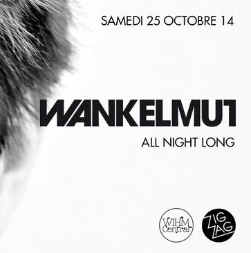 Gagnez 3×2 places pour Wankelmut au Zig Zag Club le 25 octobre
