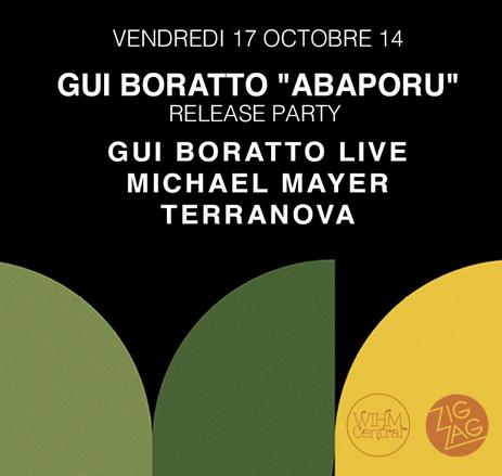 Gagnez 2×1 places pour Gui Boratto au Zig Zag Club le 17 octobre