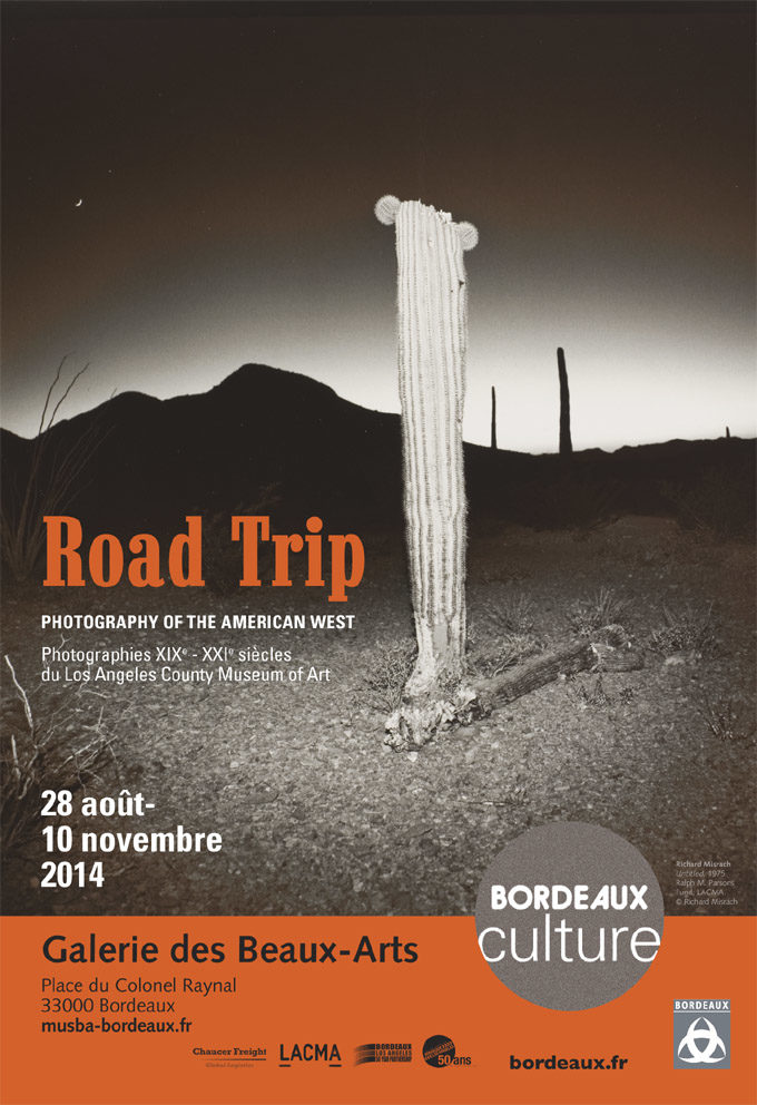 Road Trip. Photography of the American West aux Beaux-Arts de Bordeaux