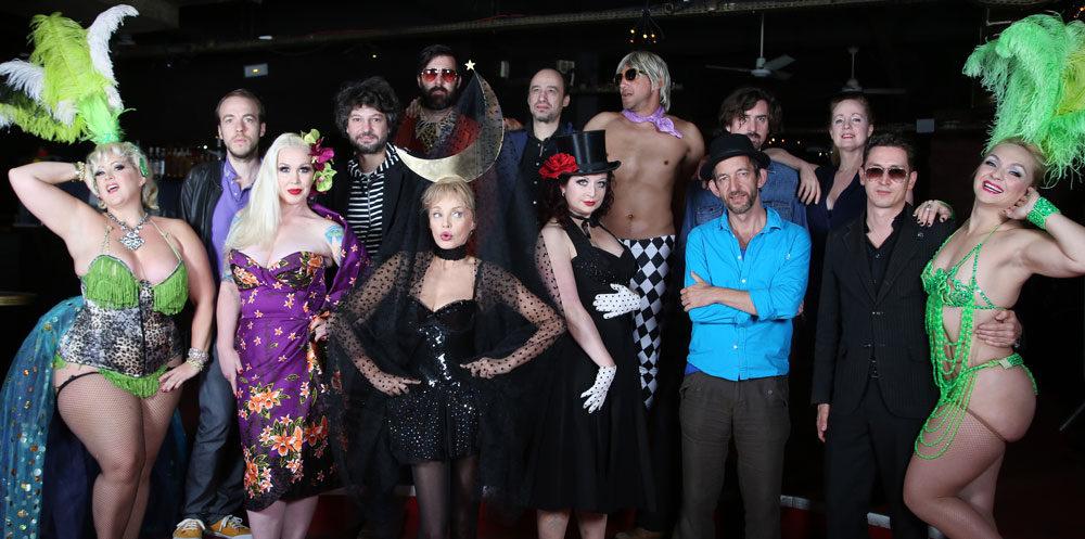 Cabaret New Burlesque en demi teinte au Cirque d'Hiver