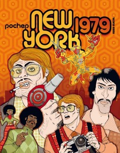 'New York 1979′ par Pochep : psychédélismes d'une ère colorée finissante - Toutelaculture