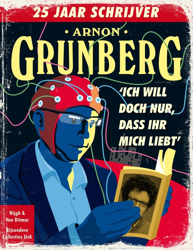 L'Université d'Amsterdam expose en couleurs les archives de l'écrivain Arnon Grunberg