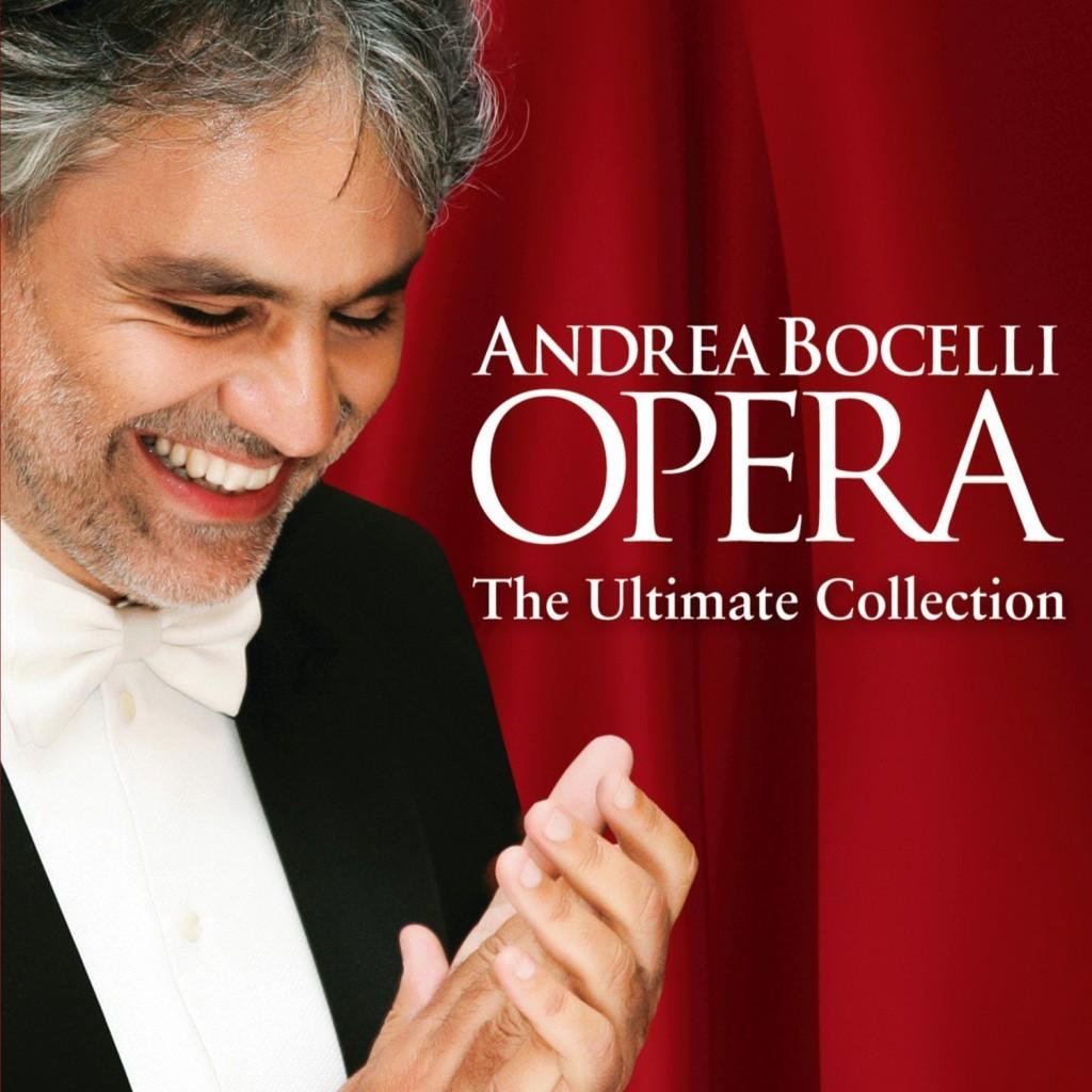 Gagnez votre exemplaire de « Andrea Bocelli Opéra, The Ultimate Collection »