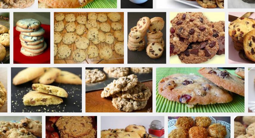 [La recette de Claude] Biscuits aux raisins secs