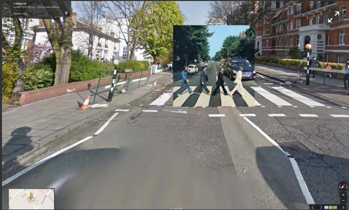 D'Abbey Road à Time Square : Google redonne vie aux pochettes mythiques