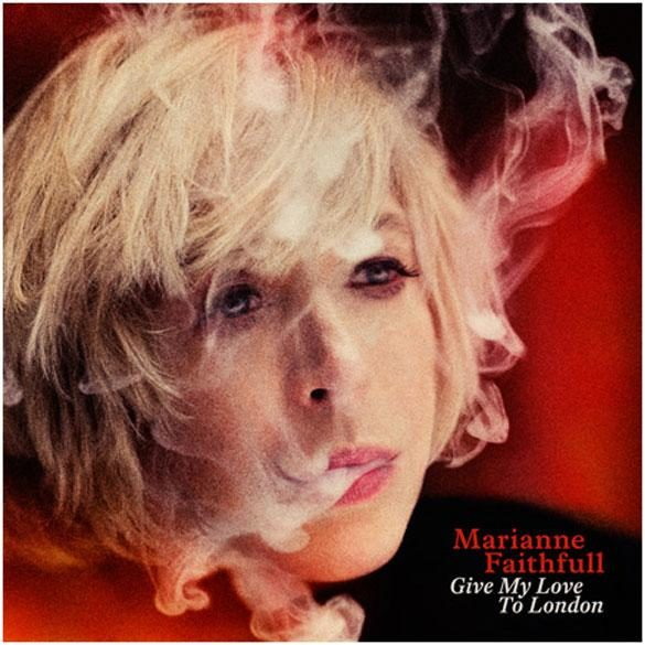 Gagnez 2 vinyles dédicacés de « Give My Love To London », le dernier album de Marianne Faithfull