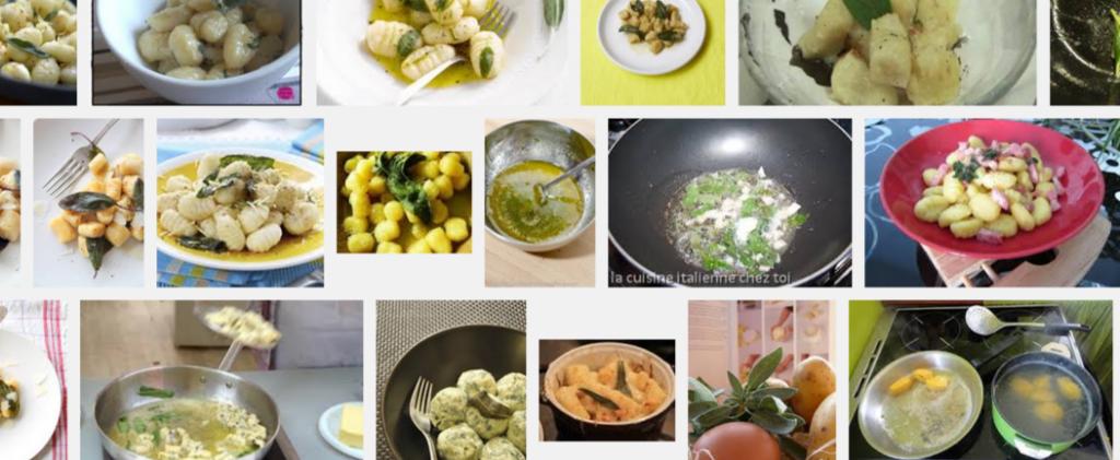 [La recette de Claude] Gnocchis au beurre de sauge