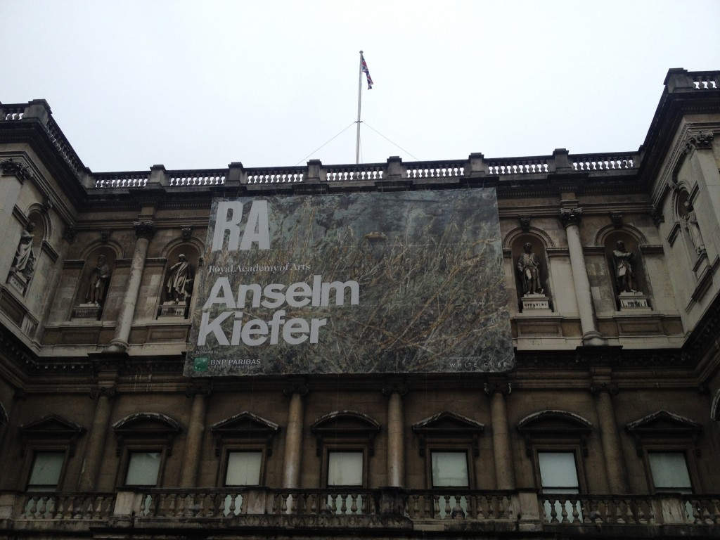 [Londres] 40 ans de l'oeuvre de Anselm Kiefer à la Royal Academy of Arts