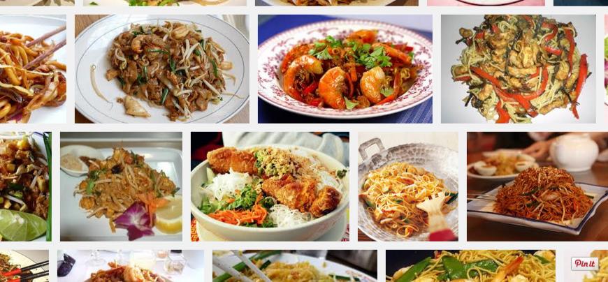 [La recette de Claude] Nouilles sautées aux crevettes, ou au poulet, ou au porc, sauce aigre-douce, piment doux