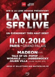 Nuit SFR Live Grand Palais