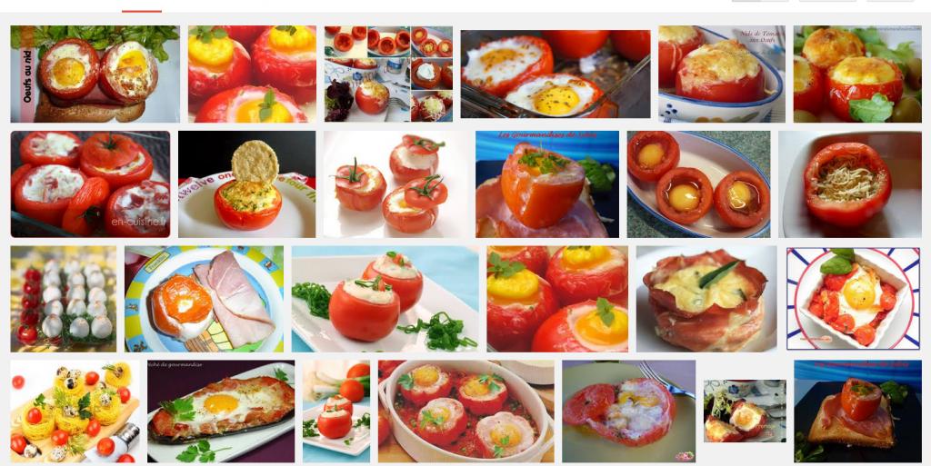 [La recette de Claude] Oeufs en nids de tomates