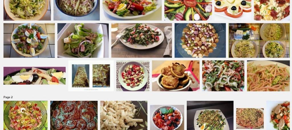 [La recette de Claude] Salade de gruyère aux oignons